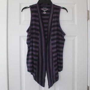 🌺3/$20 Sonoma | striped sleeveless cardigan